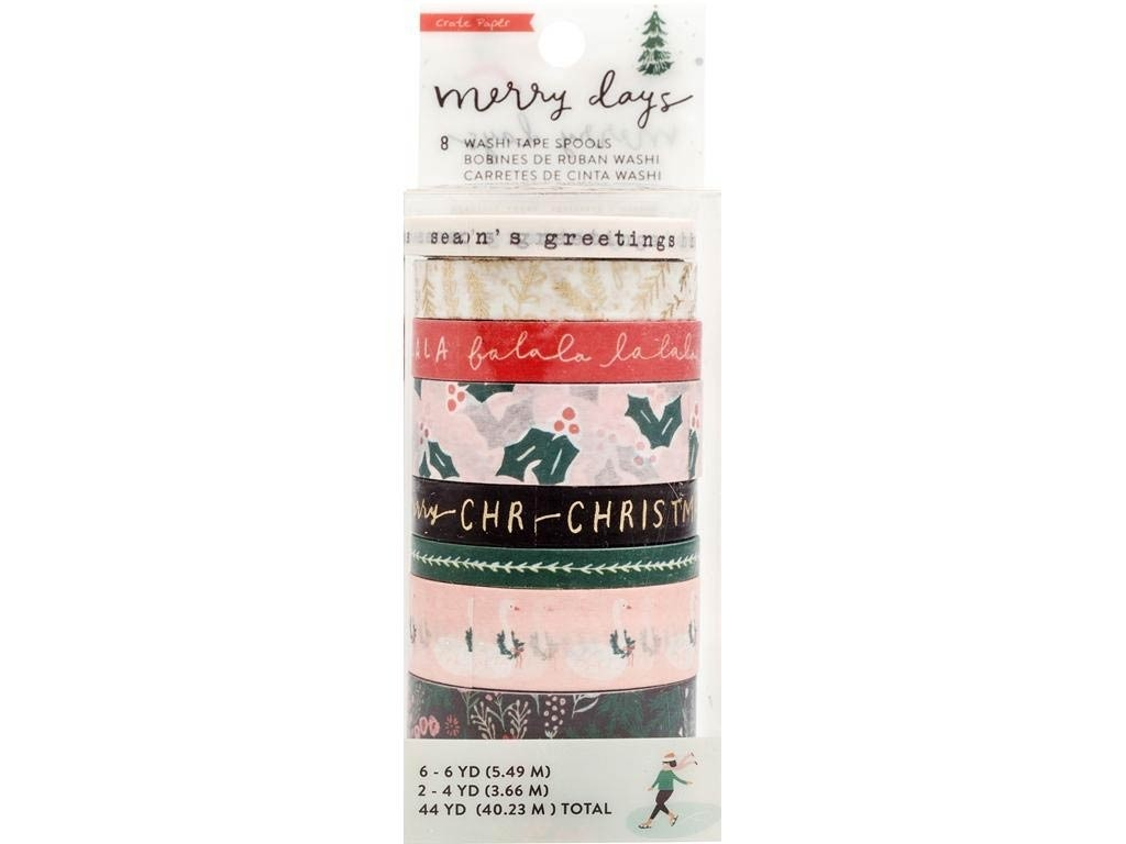 Crate Paper Collection Merry Days Washi Tape