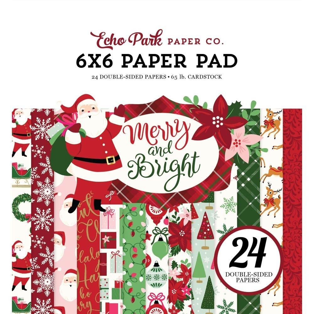 Echo Park Merry and Bright Paper Pack