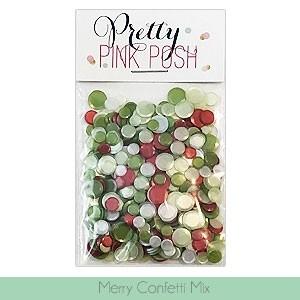 Pretty Pink Posh Merry Confetti Mix