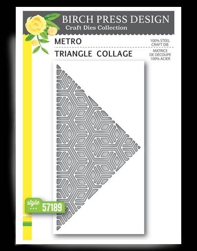Birch Press Metro Triangle Collage 57189