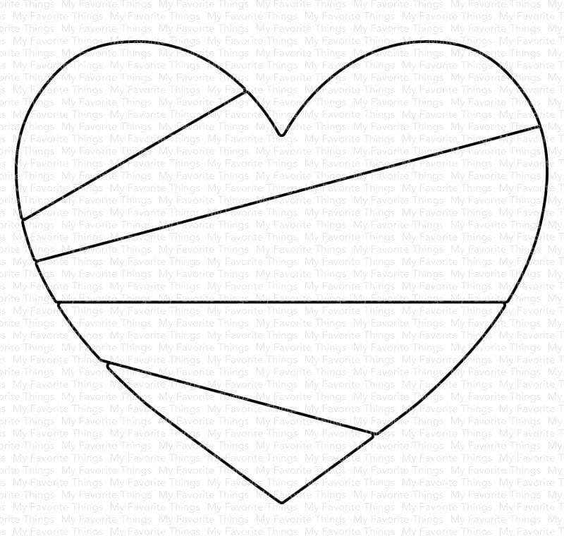 My Favorite Things Heart Rays Die-namics