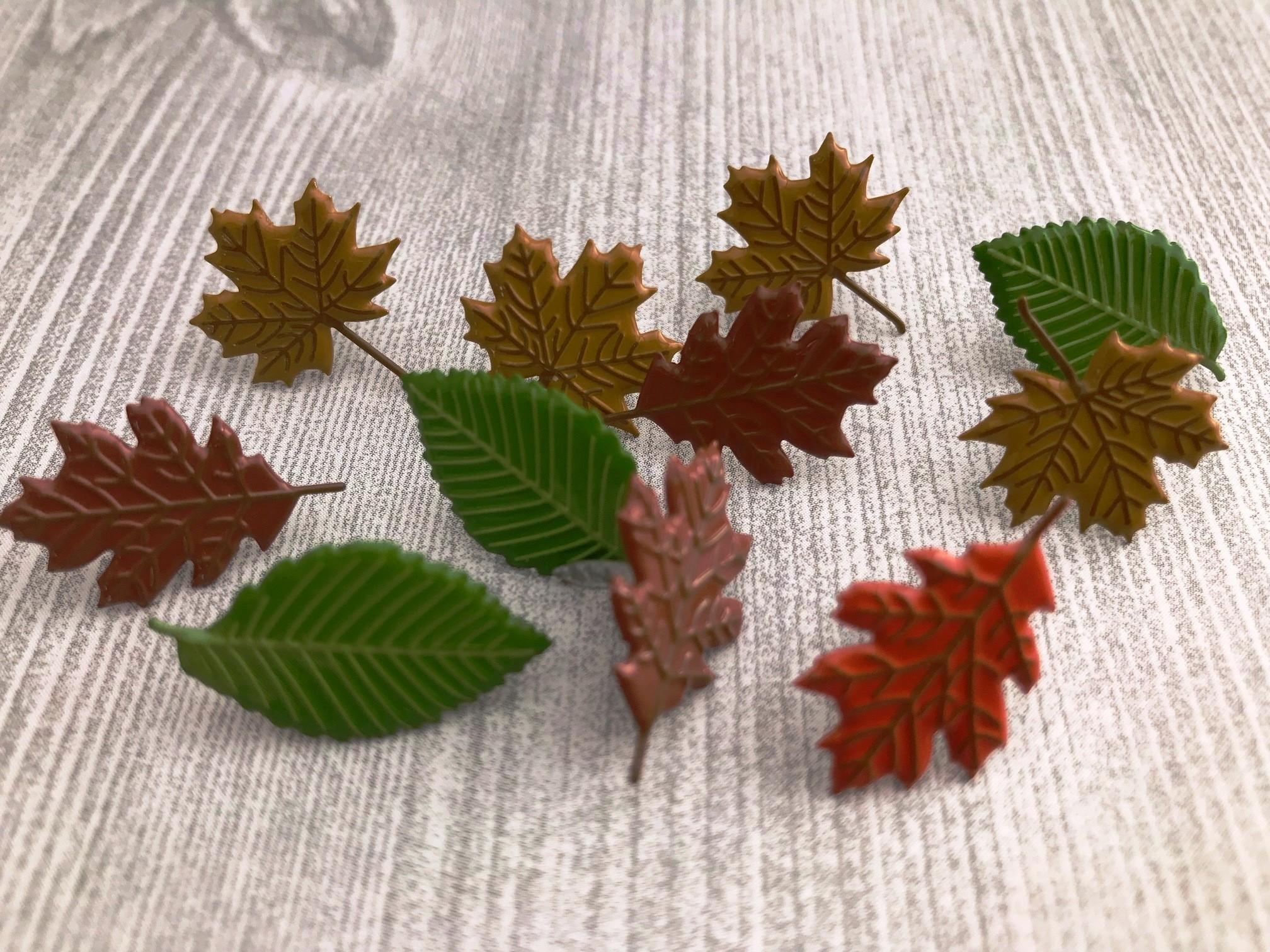 Mixed Leaf Brads
