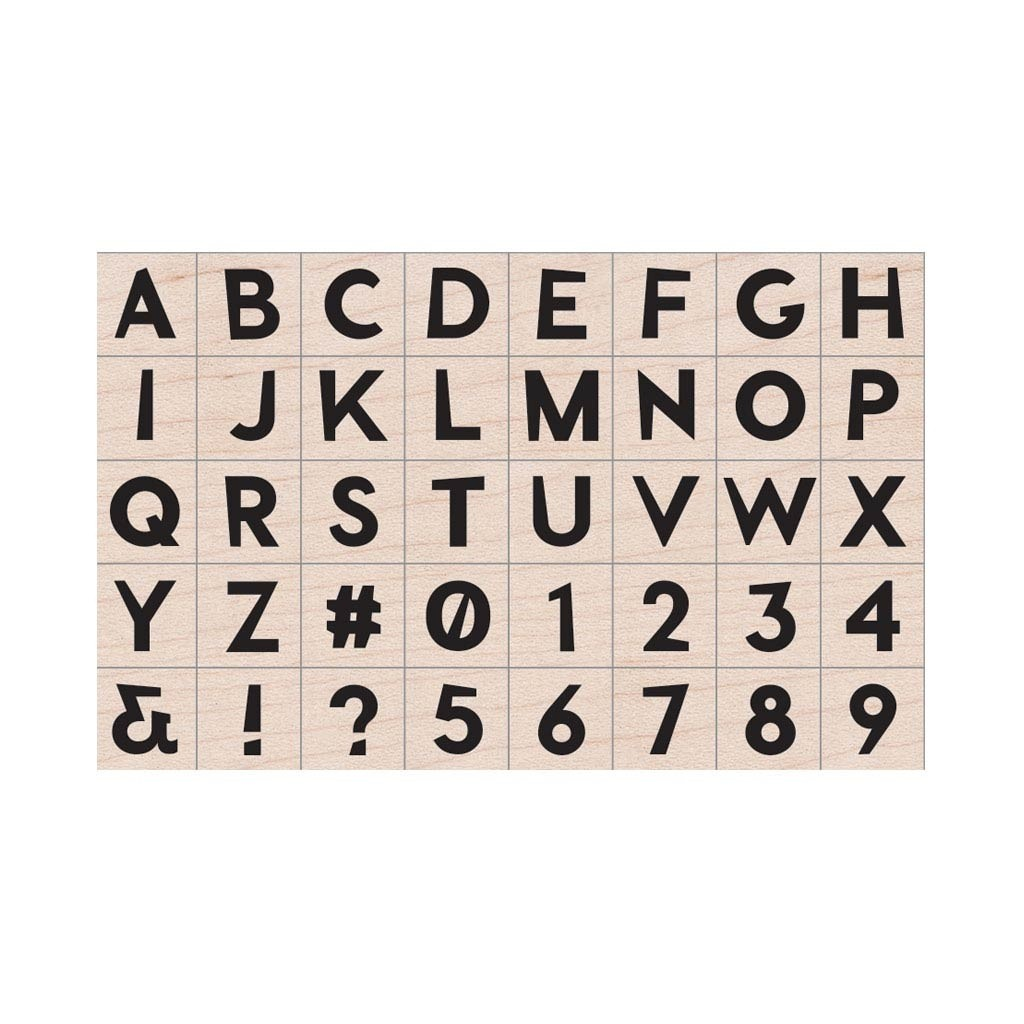 Hero Arts Modern Uppercase Alphabet Set
