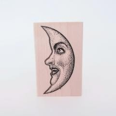 Crescent Moon stamp