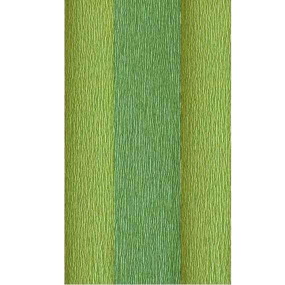 Doublette Crepe Paper - leaf and moss