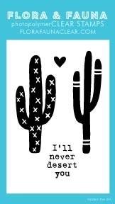 Flora and Fauna Mini Never Desert You Cactus Set 20296