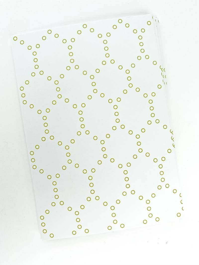 Sage Hexagon Notecards