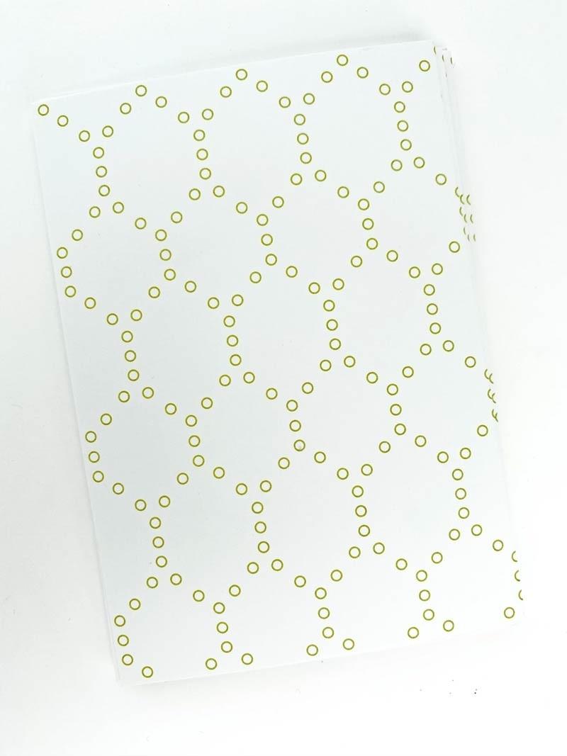 Sage Hexagon Notecards
