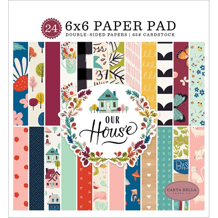 Carta Bella Our House Paper Pad