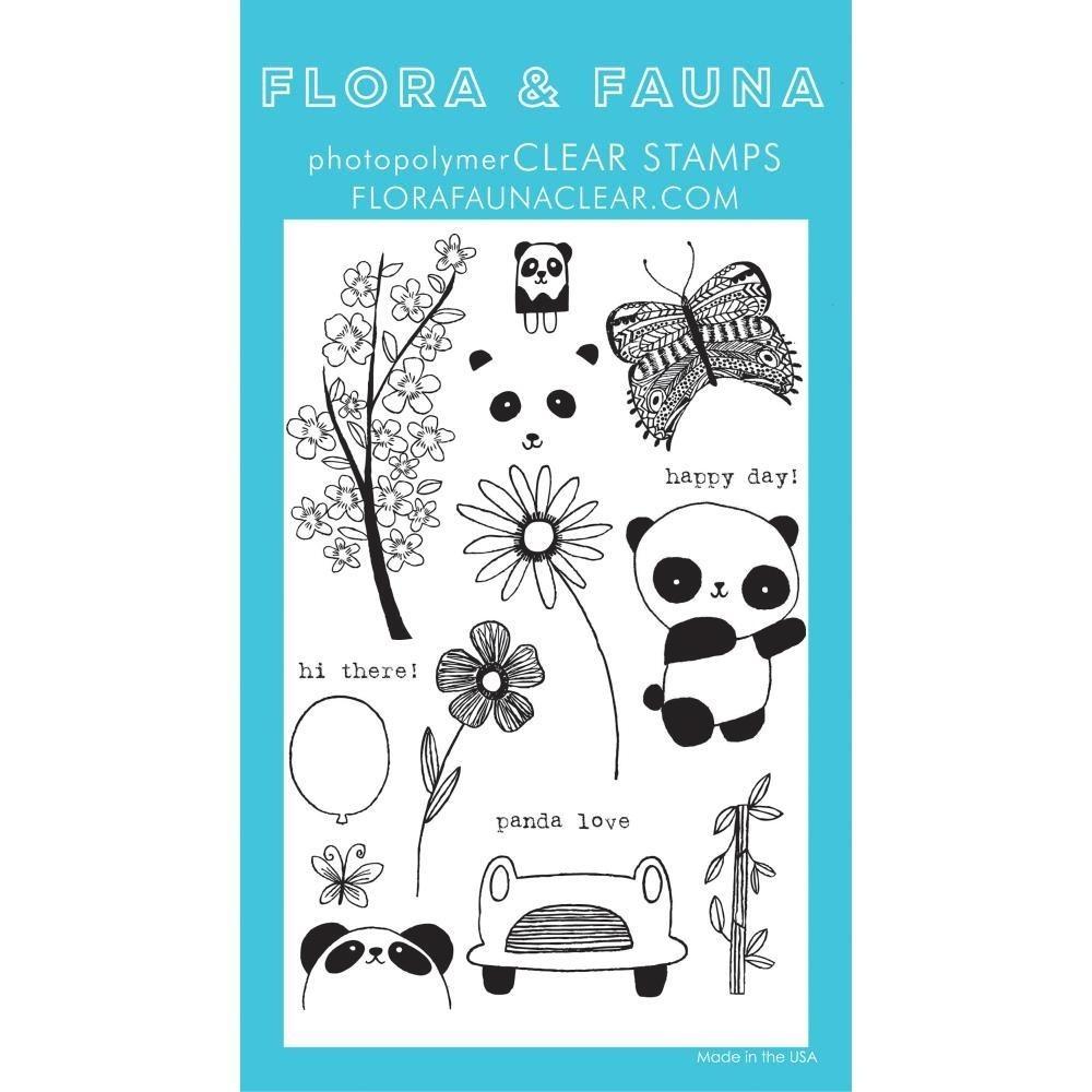 SALE - Flora and Fauna Panda Set 20170