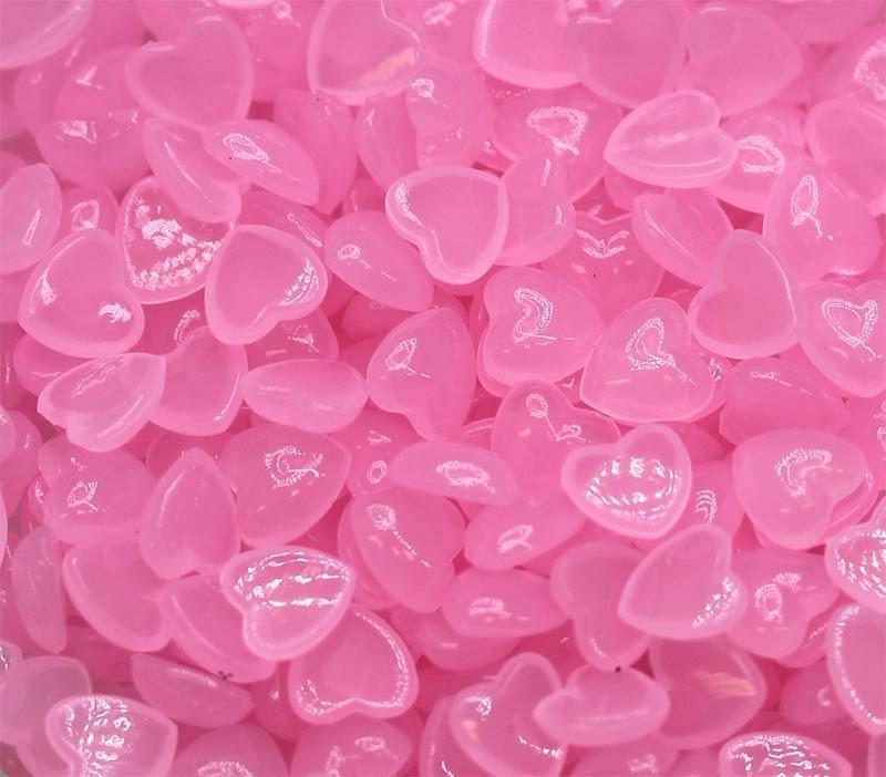 Pink Heart Drops