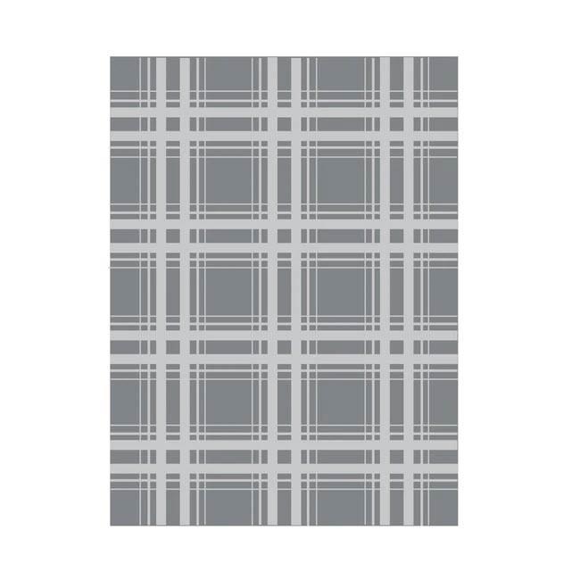 Plaid Embossing Folder