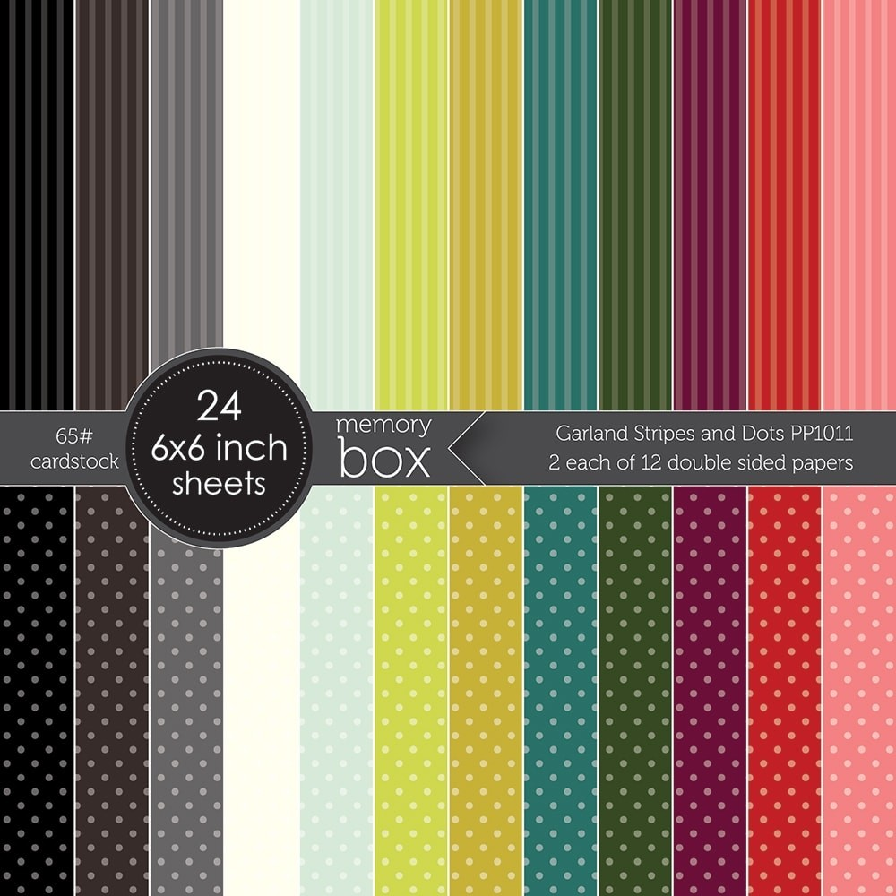 Garland Stripes and Dots 6x6 pack
