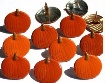 Pumpkin Brads