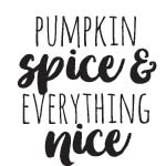5721d - pumpkin spice rubber stamp
