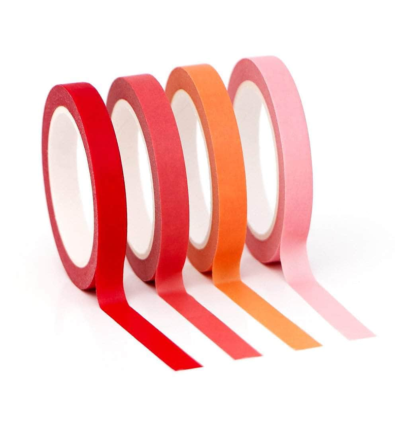 Altenew Red Sunset Slim Washi Tape Set