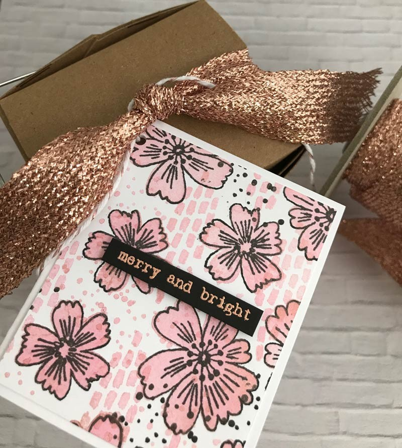 Wide Rose Gold Ribbon