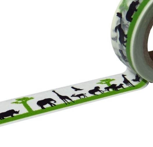 Safari Washi Tape