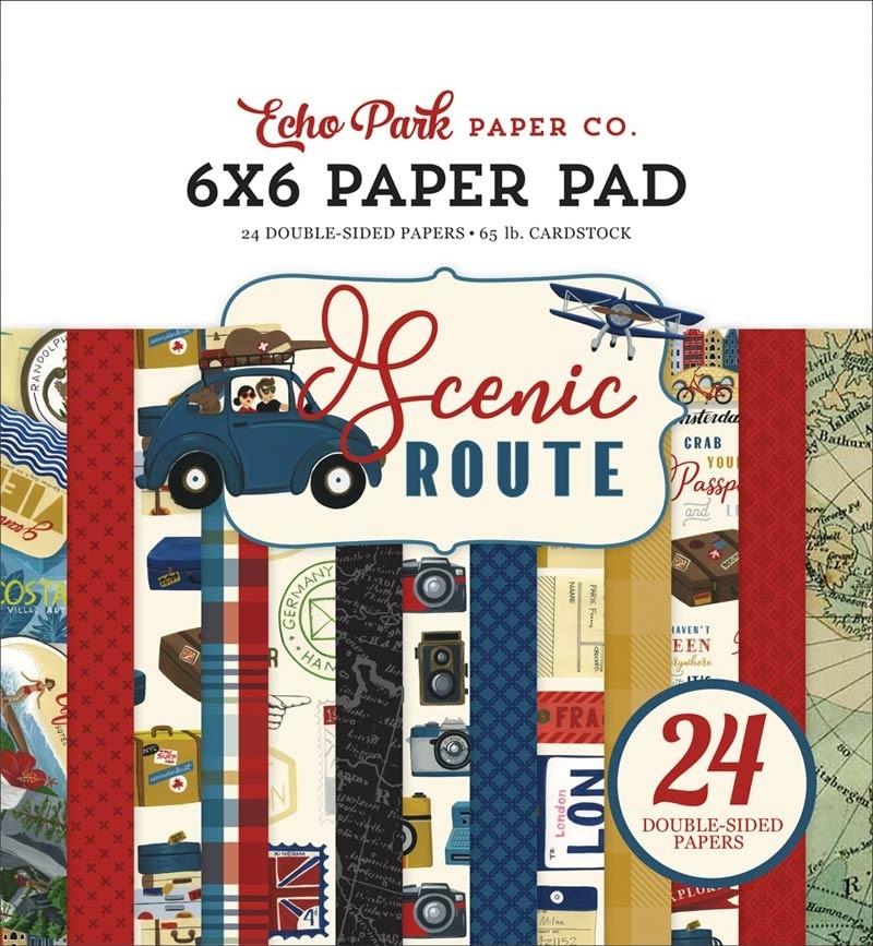 Echo Park Scenic Route 6x6 Paper Pad
