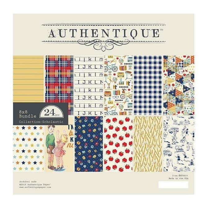 Authentique Scholastic Paper Pack