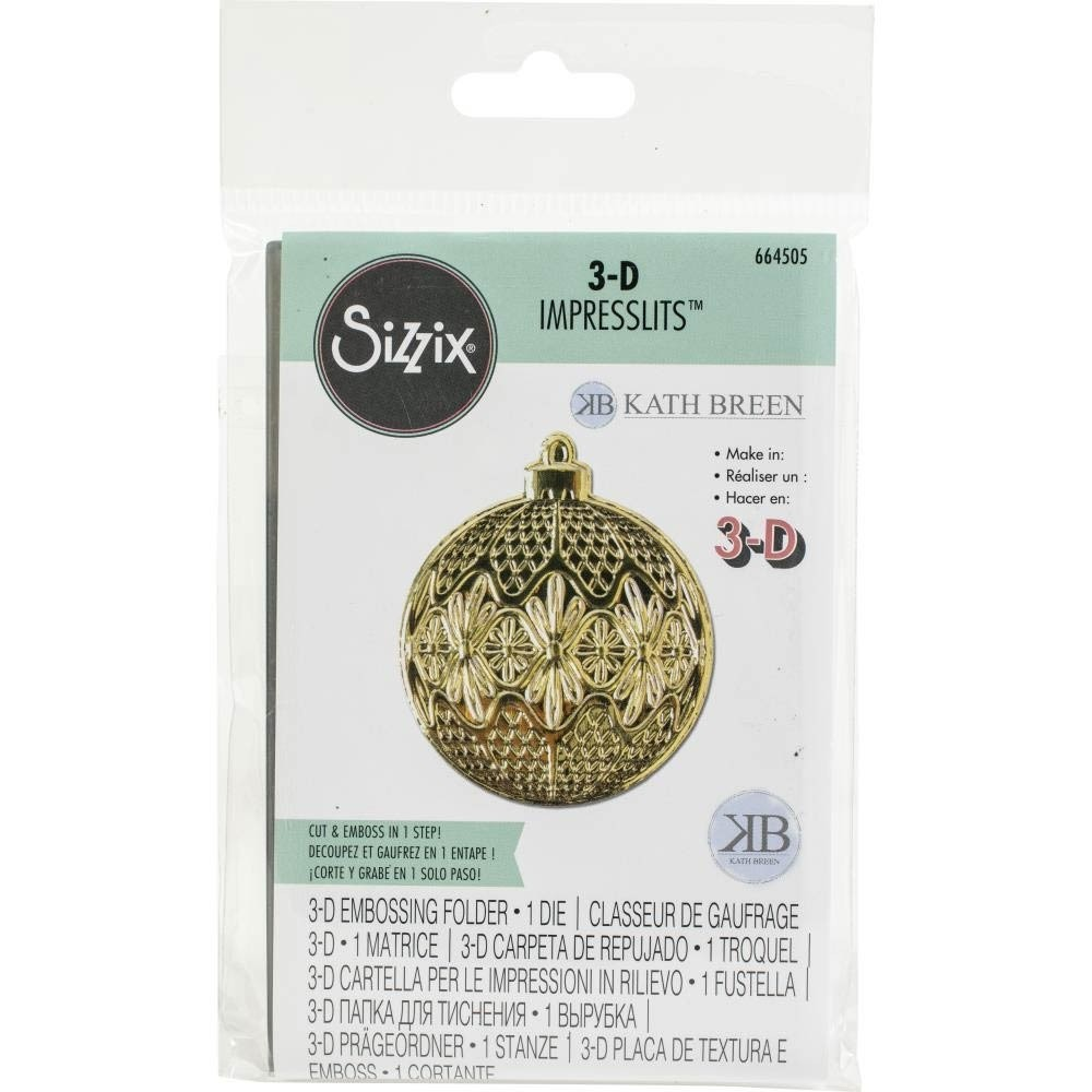 Sizzix 3-D Ornament