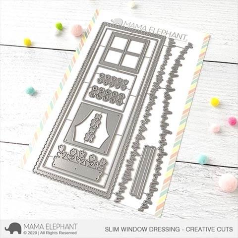 Mama Elephant Slim Window Dressing - Creative Cuts
