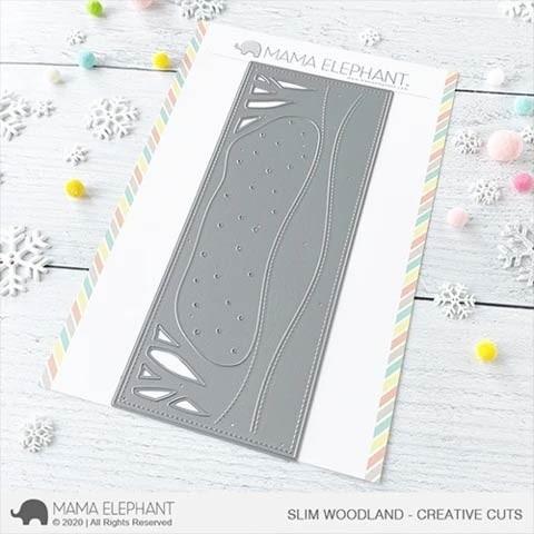 Mama Elephant Slim Woodland Cuts