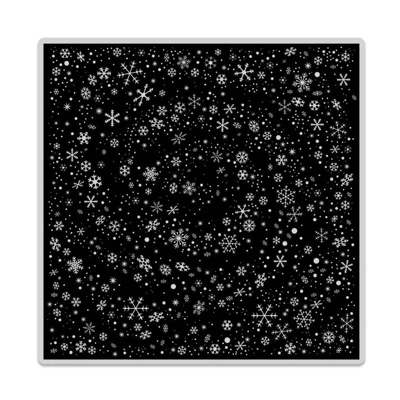 Hero Arts Snowflake Swirl Bold Prints CG814