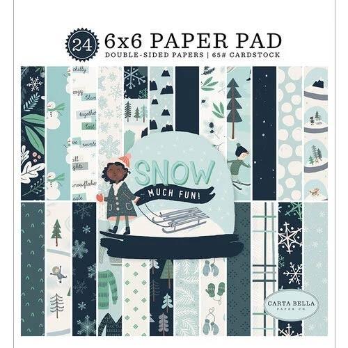 Carta Bella Snow Much Fun Paper Pad