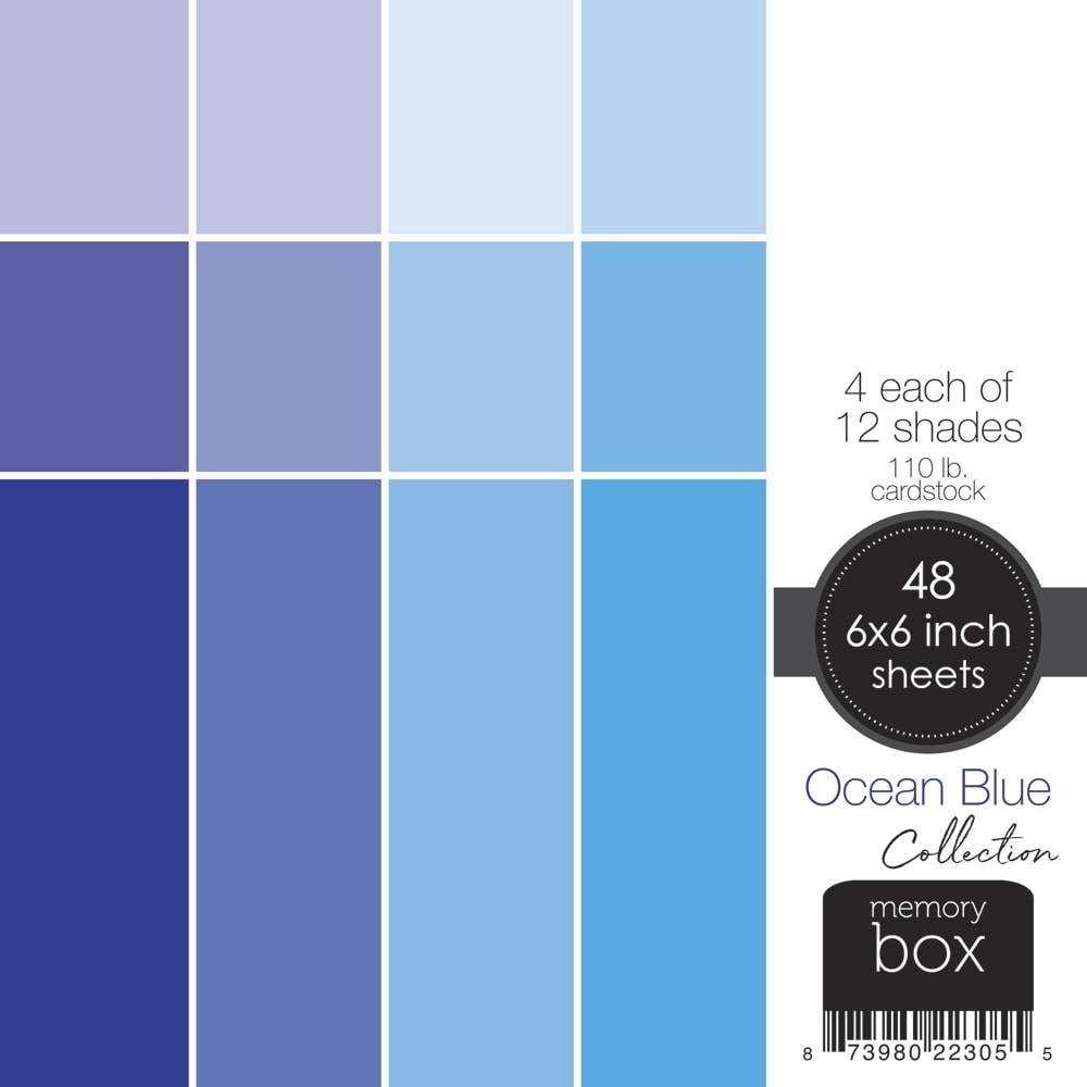 Ocean Blue 6x6 pack