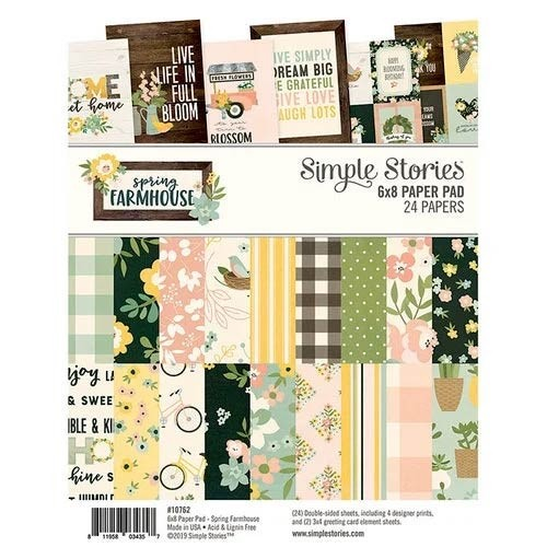 Simple Stories Spring Farmhouse Paper Pad