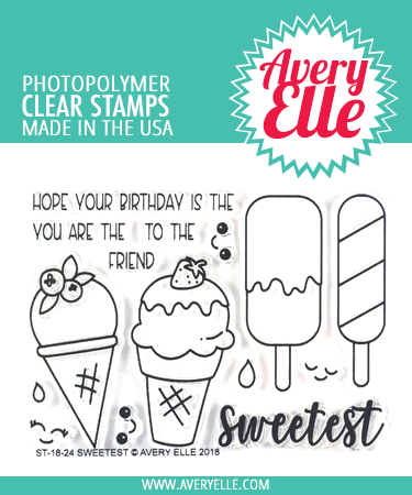 Avery Elle Sweetest Clear Stamps
