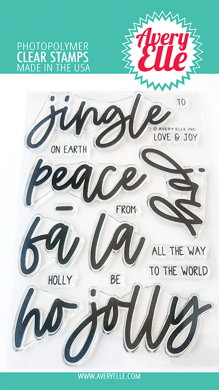 Avery Elle Jingle Clear Stamps st2026