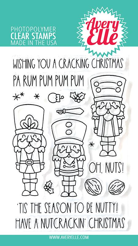 Avery Elle Nutcrackers Clear Stamps ST-31-24