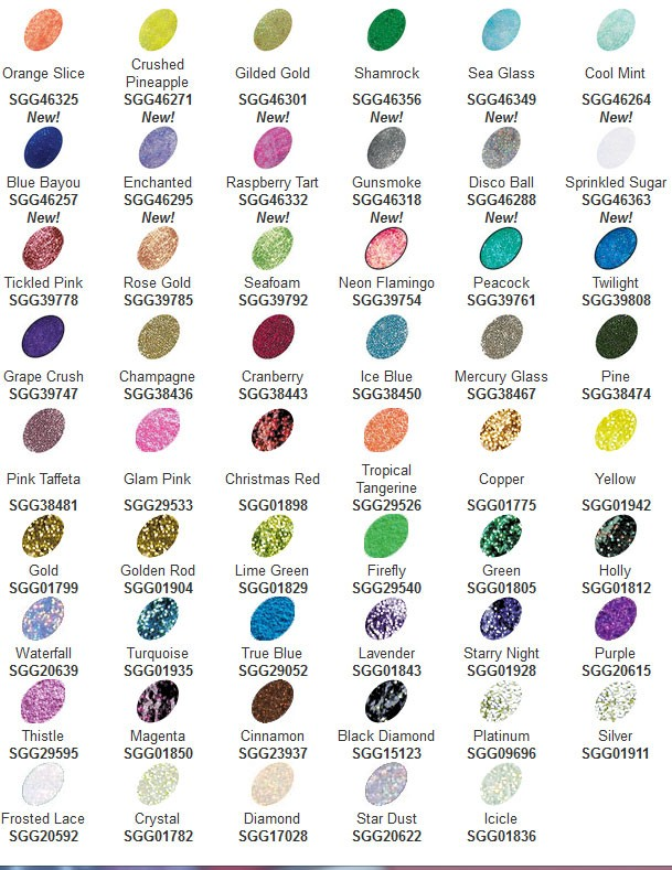 New Stickle Colors Stickles Pearls Powders Embellishments Shop