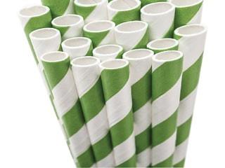 Paper Straws - emerald