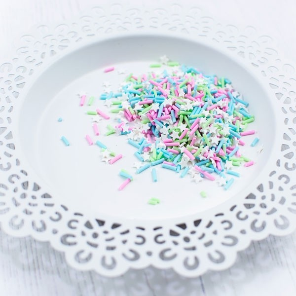 Pretty Pink Posh Sugar and Spice Clay Confetti