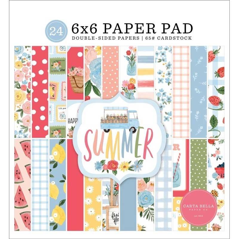 Carta Bella Summer Paper Pad