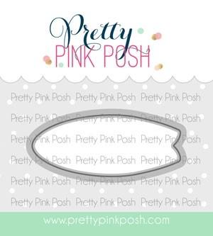 Pretty  Pink Posh Summer Surfboards Die Set