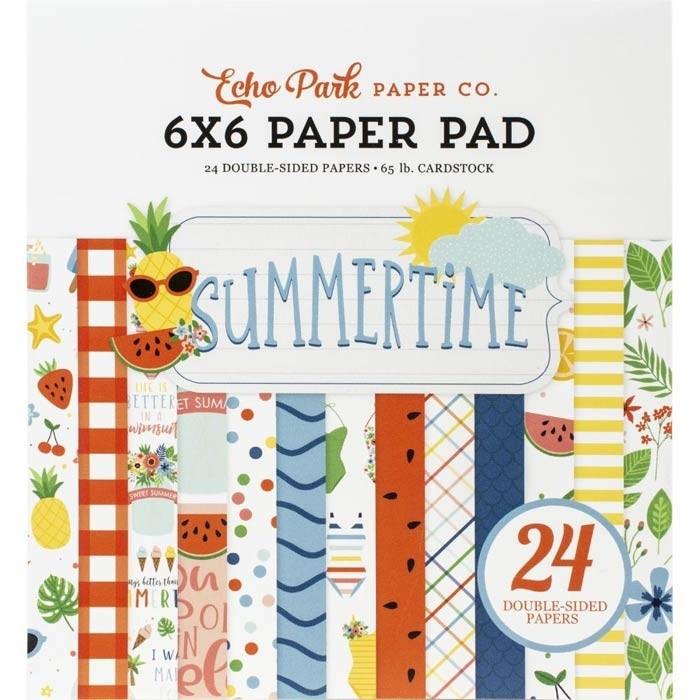 Echo Park Summertime Paper Pack