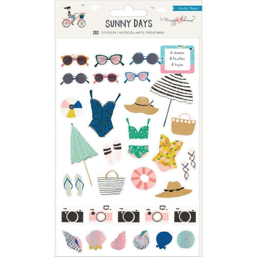 Crate Paper Sunny Days Stickers