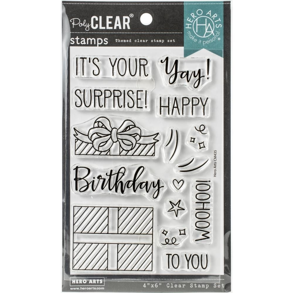 Hero Arts Surprise Gift Clear Stamp Set