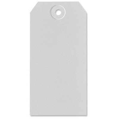 Gray Shipping Tags