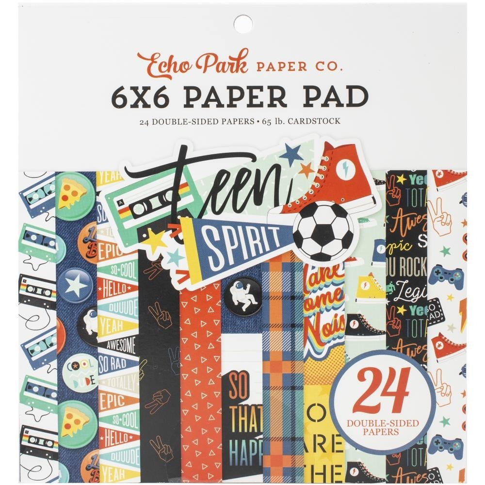 Echo Park Teen Spirit Boy Paper Pad