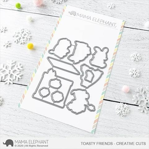 Mama Elephant Toasty Friends - Creative Cuts