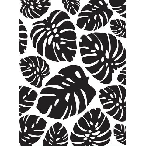 Monstera Leaf Embossing Folder