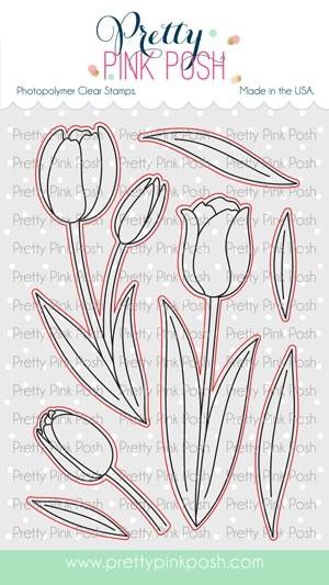 Pretty Pink Posh Tulip Corrdinating Dies