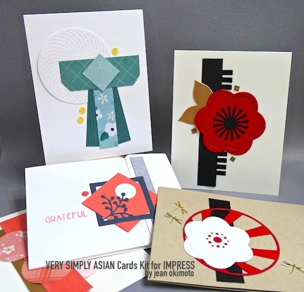 Very Simple Asian Card Kit