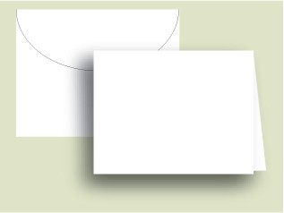 White Notecards