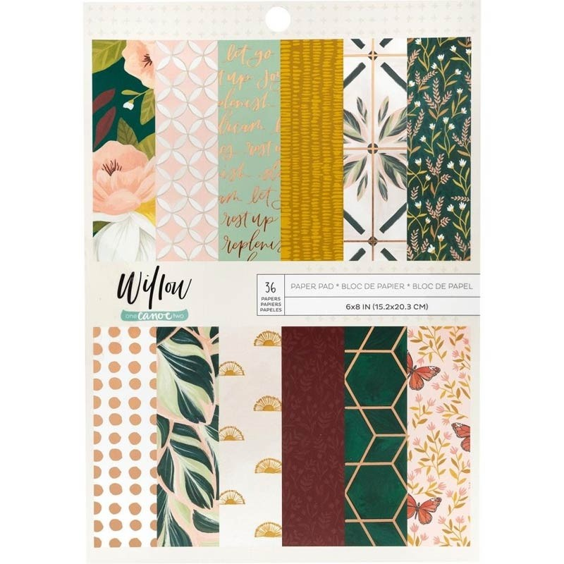 One Canoe Two Single-Sided Paper Pad called Willow